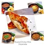 Roasted Chicken Mole Empanadas